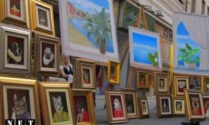 Выставка продажа картин в Турине