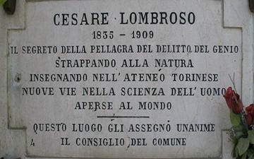 Чезаре Ломброзо Турин