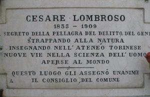 Чезаре Ломброзо Монументальное кладбище Турина