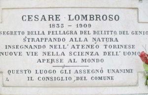 Монументальное кладбище Турина и его знаменитости Чезаре Ломброзо