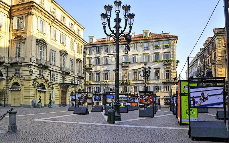 Достопримечательности Турина площадь Кариньяно