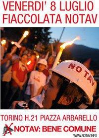 50 тысяч итальянцев бастуют против бурение туннеля в долине Суза Кьемонте