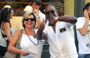 """Флешмоб в Италии - Турин """"Freeze Time"""" - фигура на месте замри."""