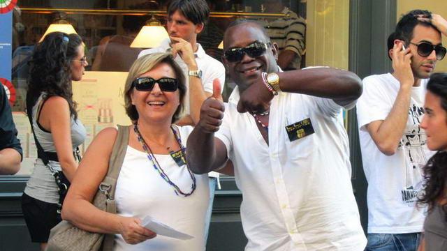 Флешмоб в Италии - Турин
