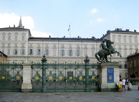 Королевский дворец в Турине Италия достопримечательности
