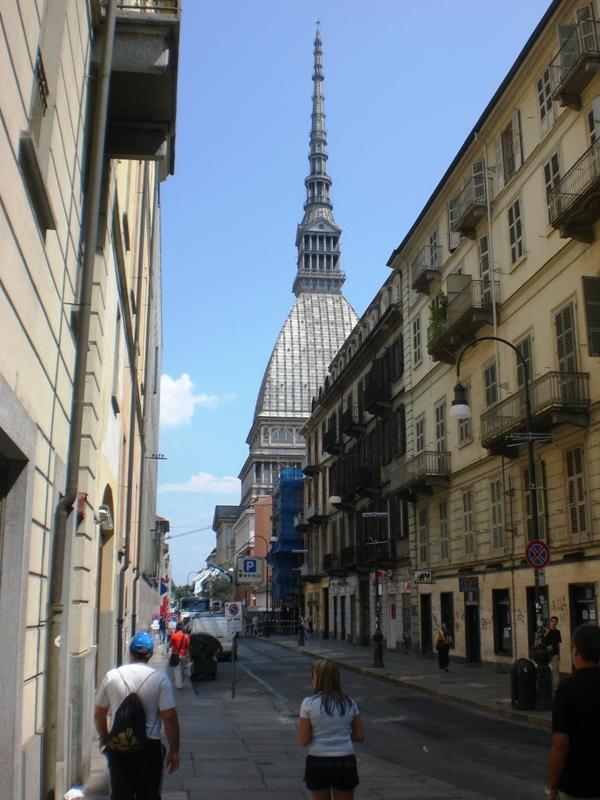 Символ Турина башня шпиль Моле Антонеллиана