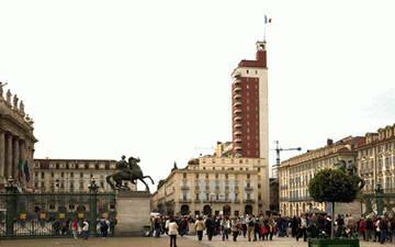 Здание фашисткой партии в Турине