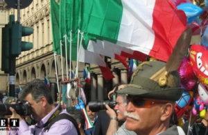 Парад альпийцев в Турине - Элитные горные войска Италии на параде