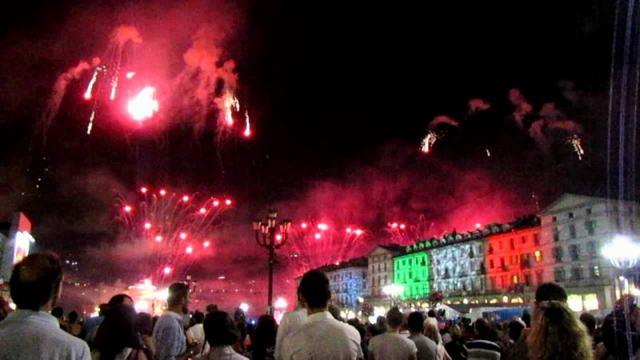 Турин день города 2011 Салют