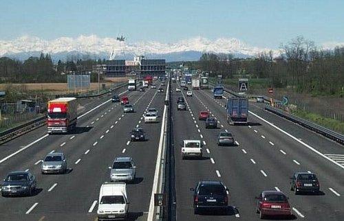 Автострада Италия как попасть в Турин
