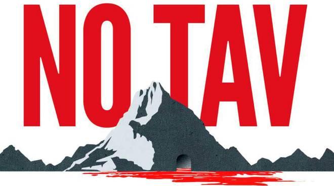 В Турине прошло факельное шествие Турин NO TAV