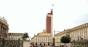"""Панорама Турина с здания Torre Littoria """"Палец Муссолини"""""""