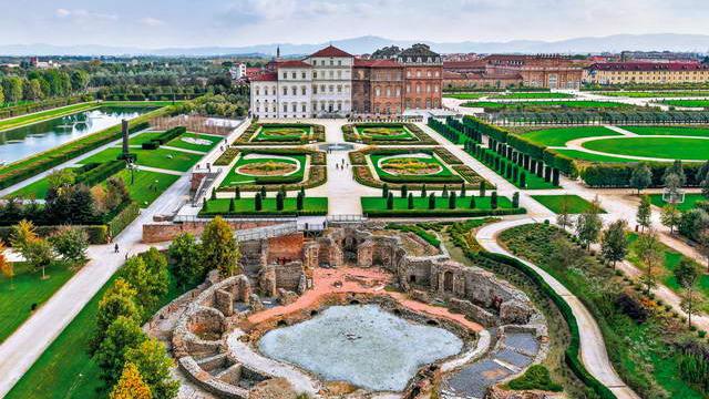 Reggia di Venaria Torino замечательный королевский замок в Турине