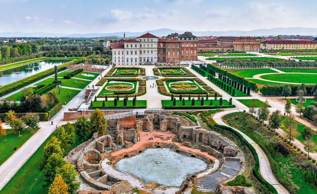 Королевский дворец Венария Реале в Турине - Reggia di Venaria Torino