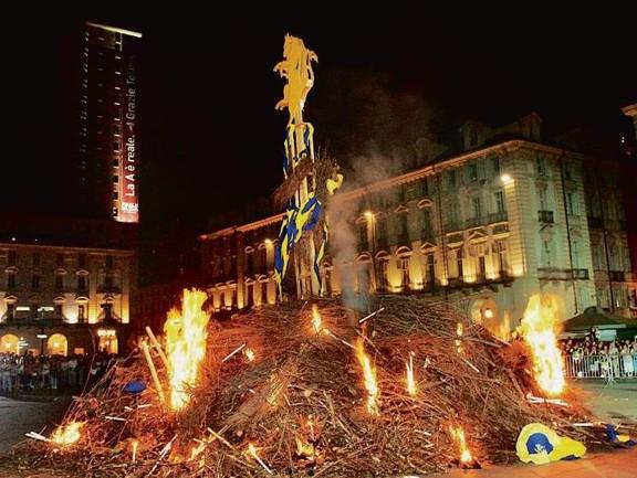 Турин празднование дня города Праздники Турина