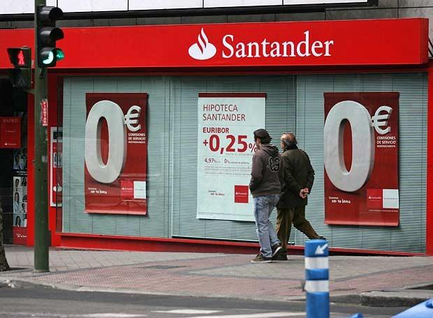 Банк Santander Consumer в Турине Италия Забастовка банкиров в Турине.