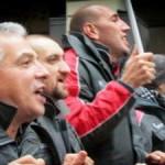 Итальянская забастовка турин