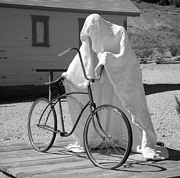 Велосипеды призраки в Италии Турин память