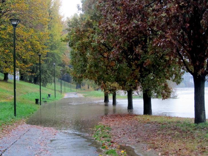Наводнения в странах Европы Италия Турин
