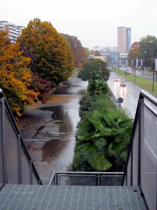 Наводнение в южной части Турина Италия