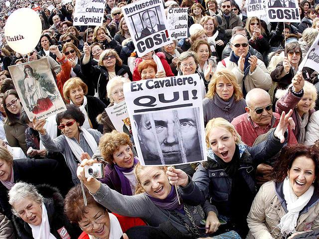 Берлускони уходит с поста премьер министра Италии