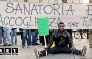 Беженцы из Африки в Турине хотят жить в Европе