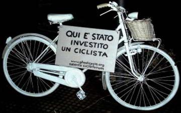Велосипеды призраки по всему миру Турин Италия