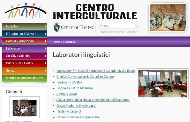 Языковая школа лаборатория в Турине от городской коммуны Топ 10 языковых школ Турин