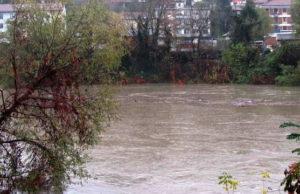 Наводнение в Италии Турин