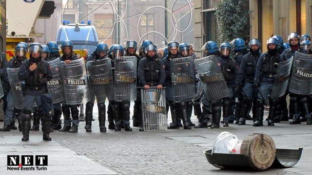 День студента в Турине закончился столкновением с полицией