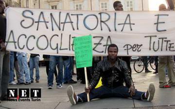 Беженцы италия турин