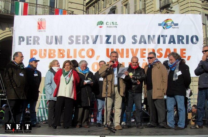 Итальянское правительство прижимает медицинские услуги в Турине