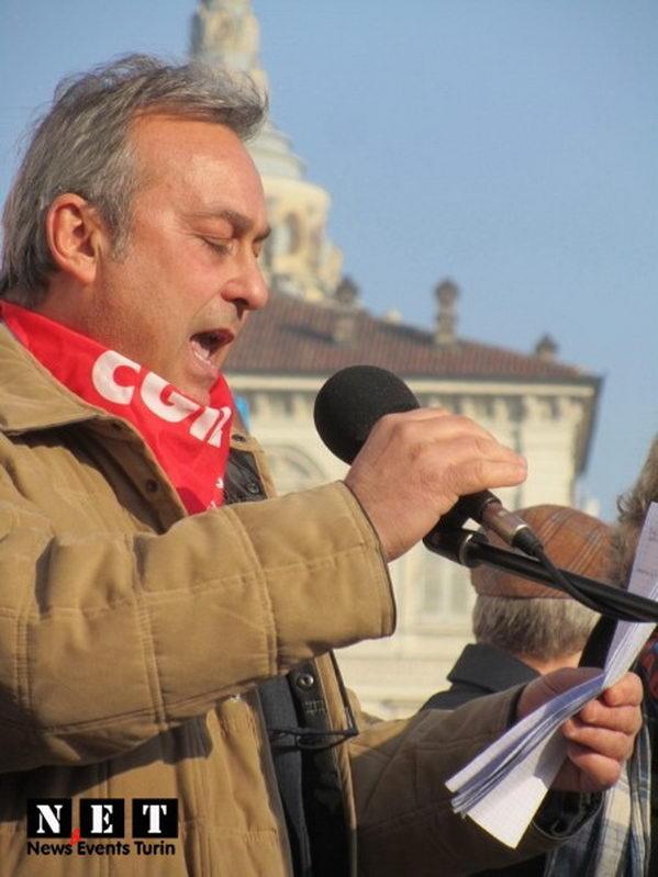 Лидер одного из профсоюзов в Турине