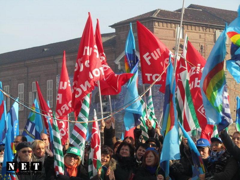 Турин город протеста