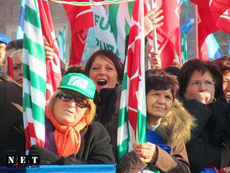 Итальянская забастовка в Турине какая она
