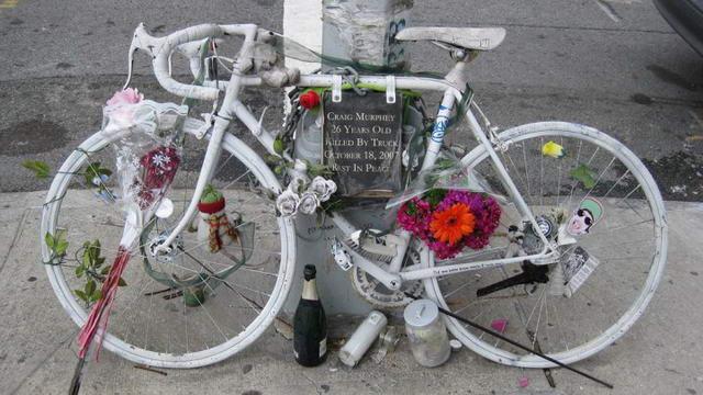 Ghost Bikes - Bici fantasma - Велосипеды призраки в Италии.