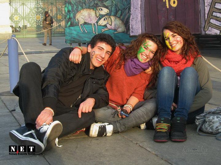 I femministi italiane a Torino