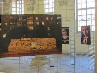 Италия Турин фотовыставка детей подземелья в Одессе