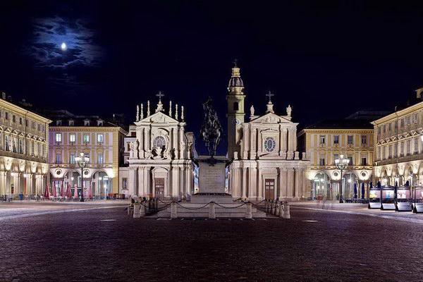 Piazza SanCarlo Torino romantica