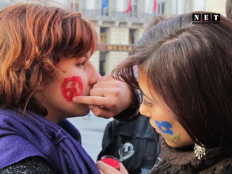 Студенты Турина против расизма