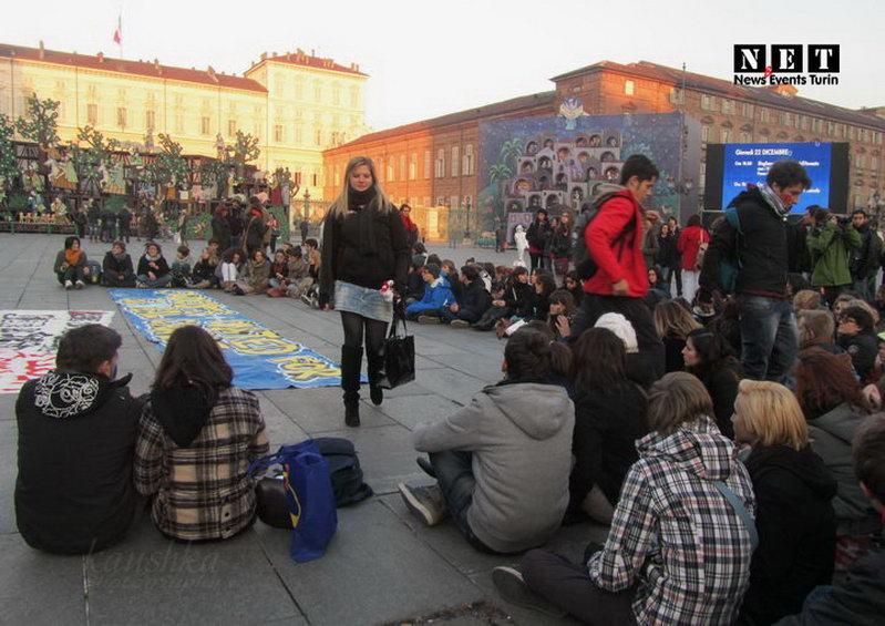 Собрание студентов Турина