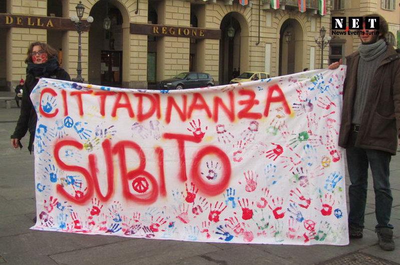 Студенты Турина просят гражданства для иностранцев