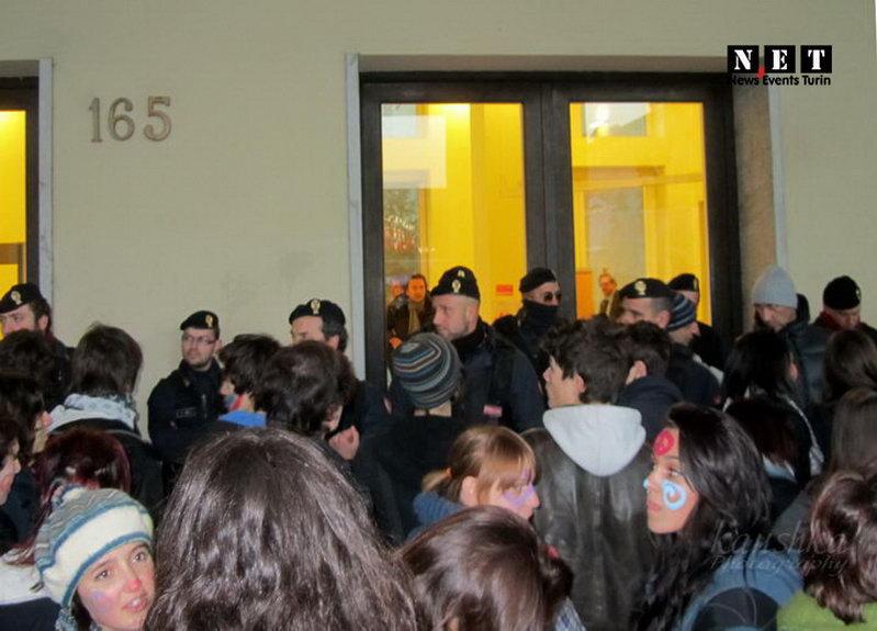 Студенты требуют президента Пьемонта