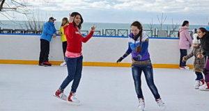 Ледовый каток Турин или где покататься на коньках