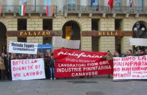 Манифестация рабочих комплектующих Феррари