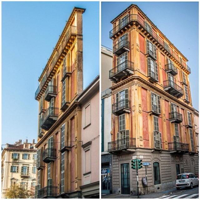 Сооружение архитектора Антонелли в Турине Полента