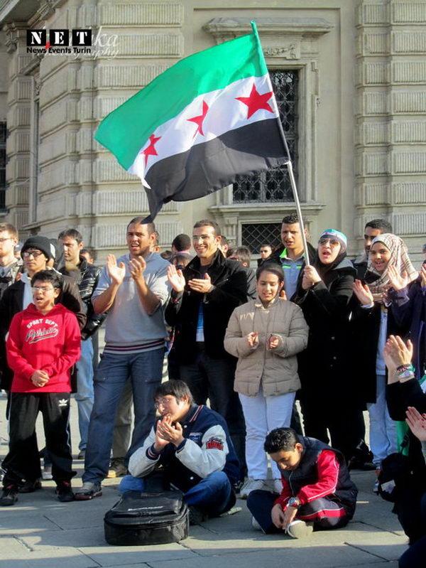 Итальянская забастовка сирийцев