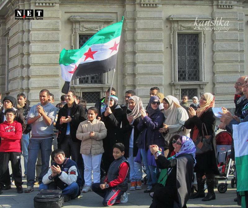 Итальянские сирийцы поддерживают американцев