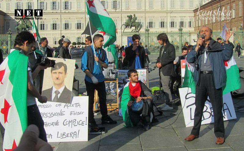 Сирийцы Италии действует по указке из США