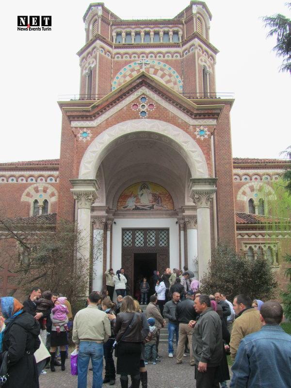 Русская православная церковь в Италии город Турин